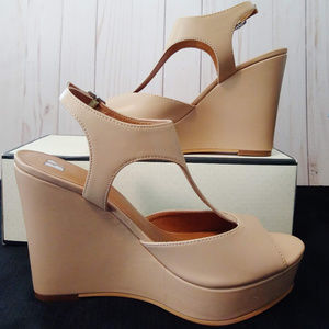BP by Nordstrom Springs Wedge Shoes Size 7M New